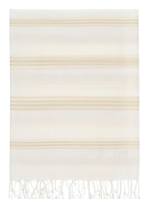 Chakra Luce Peştamal 90*170 Beyaz